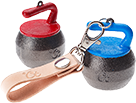 Mini Curling Bell and Leather Strap